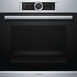 Bosch HBG674BS1B Brushed Steel Electric Multi-Function Oven