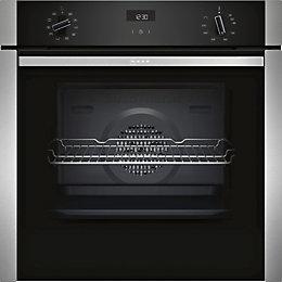 Neff B3ACE4HN0B Black Electric Slide&Hide® Single Oven