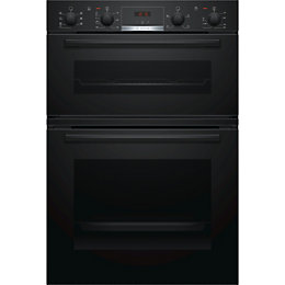 Bosch MBS533BB0B Black Electric Double Oven