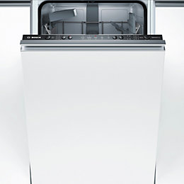 Bosch SPV25CX00G Integrated Slimline Dishwasher, White