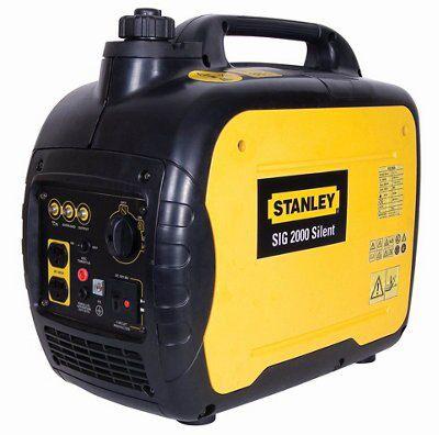 stanley 2000w 4 stroke silent inverter generator sig2000. Black Bedroom Furniture Sets. Home Design Ideas