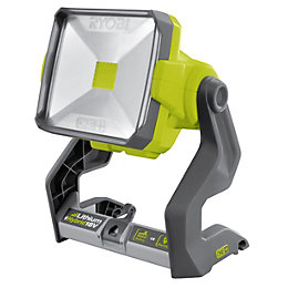 Ryobi One+ 2000lm Plastic LED Green Area Light