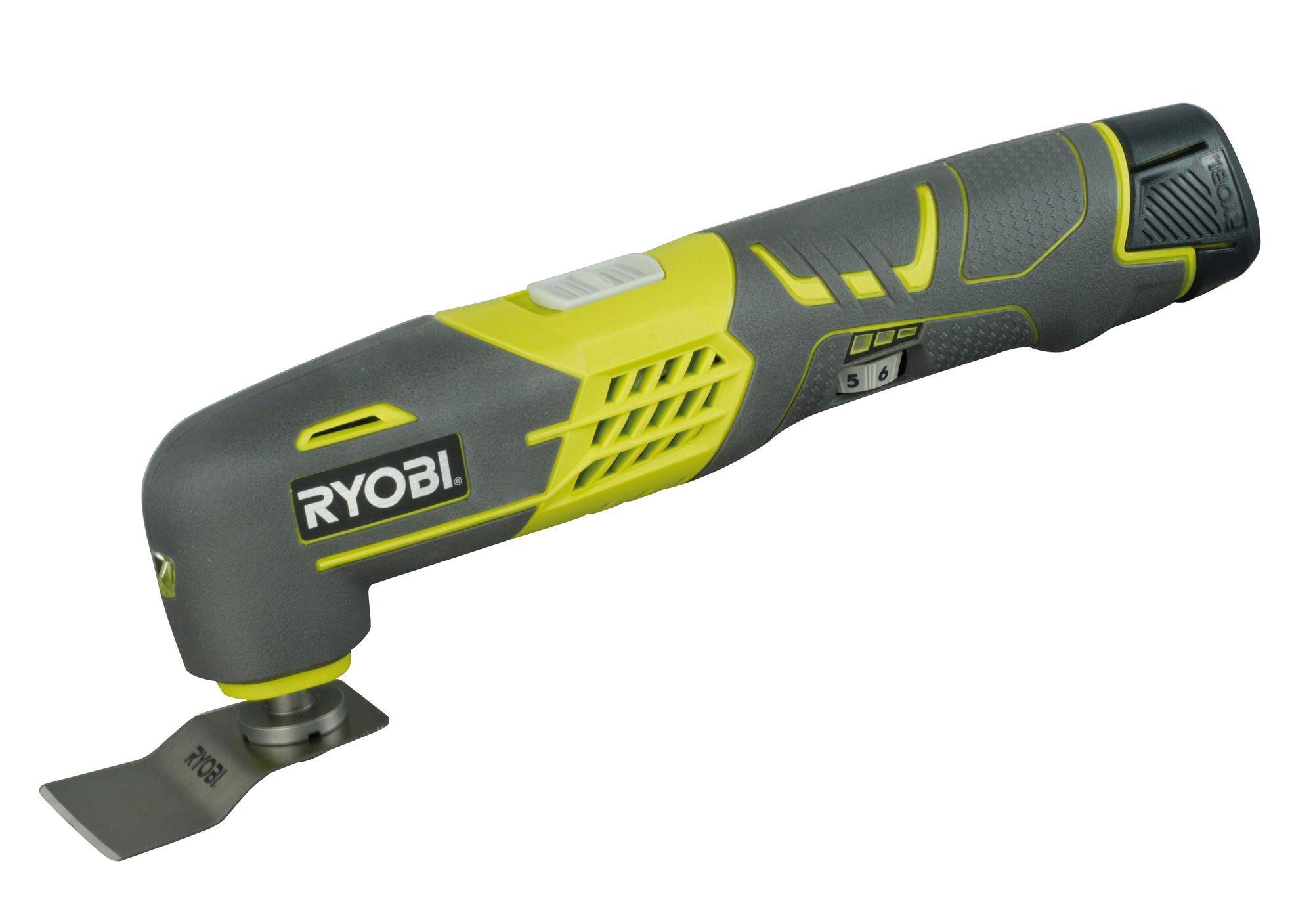 Ryobi 12V Cordless Multi tool RMT12011L   Departments   TradePoint
