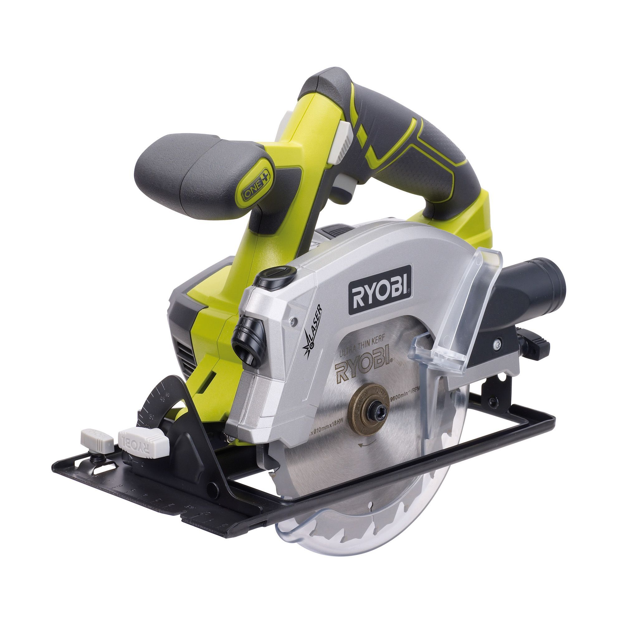 Ryobi one 18v cordless 4 stage pendulum action jigsaw r18js 0 bare ryobi one 18v 150mm cordless circular saw rwsl18011l greentooth Image collections