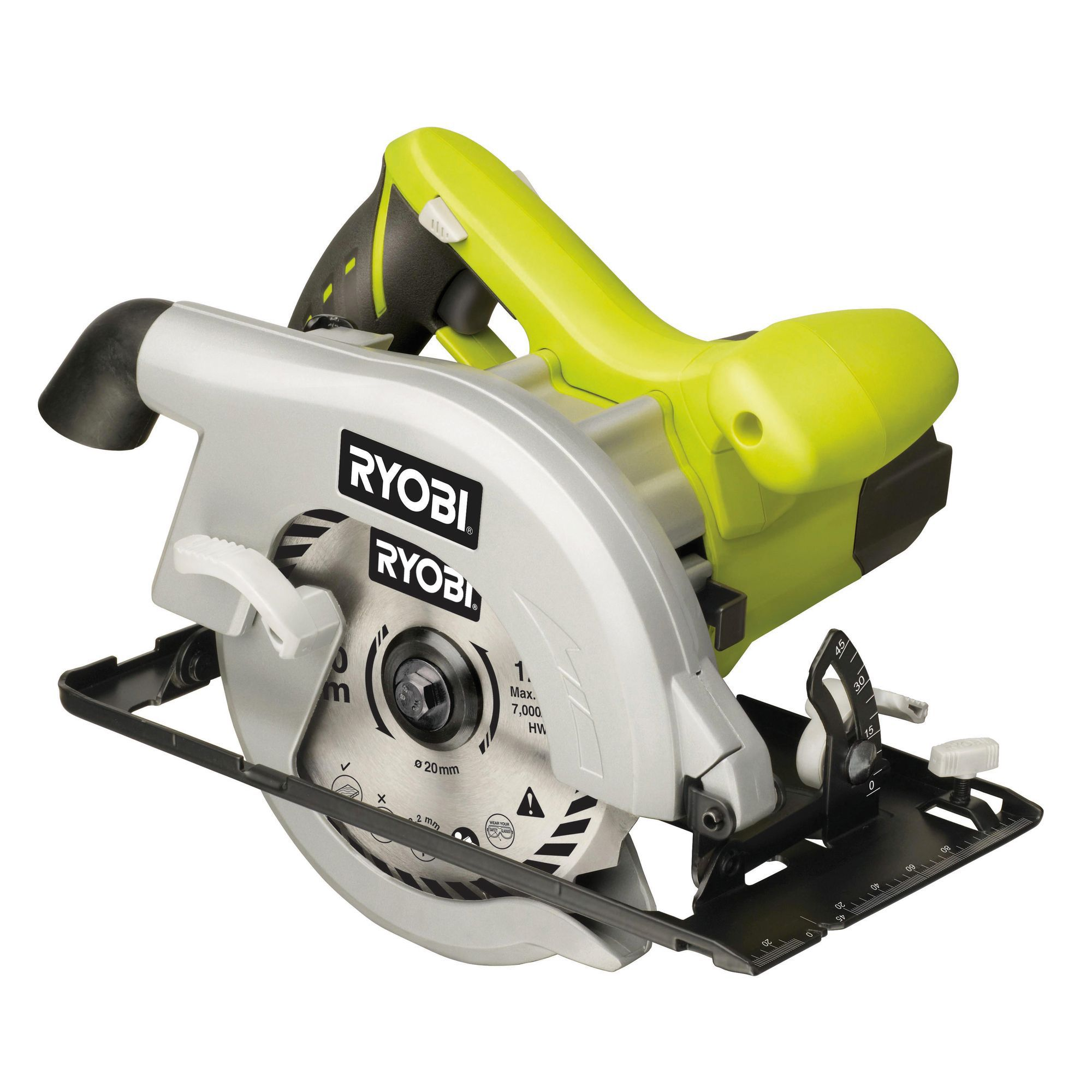 Ryobi 1150w 170mm circular saw ews1150rs departments diy at bq keyboard keysfo Image collections