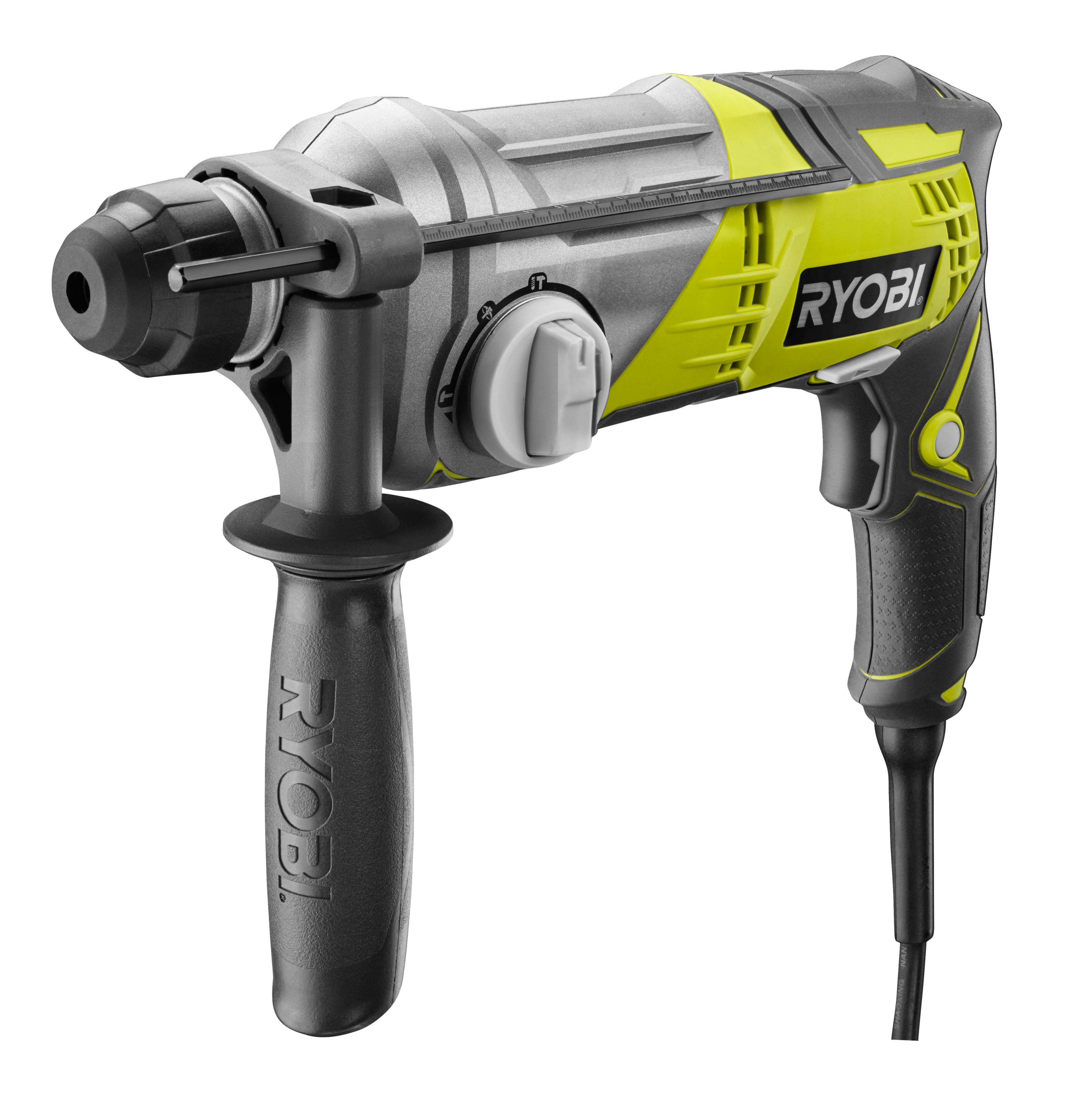 Ryobi 680w 240v Corded Sds Plus Brushed Hammer Drill