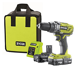 Ryobi ONE+ Cordless 1.3A 18V Brushed Percussion drill