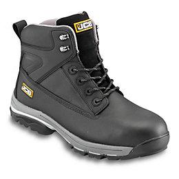 JCB Black Fast Track Boots, Size 9