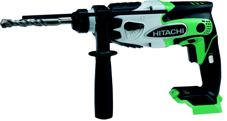 hitachi cordless 18v li ion sds plus drill without batteries dh18dsl rh diy com Hitachi Cordless Hitachi Drill Press