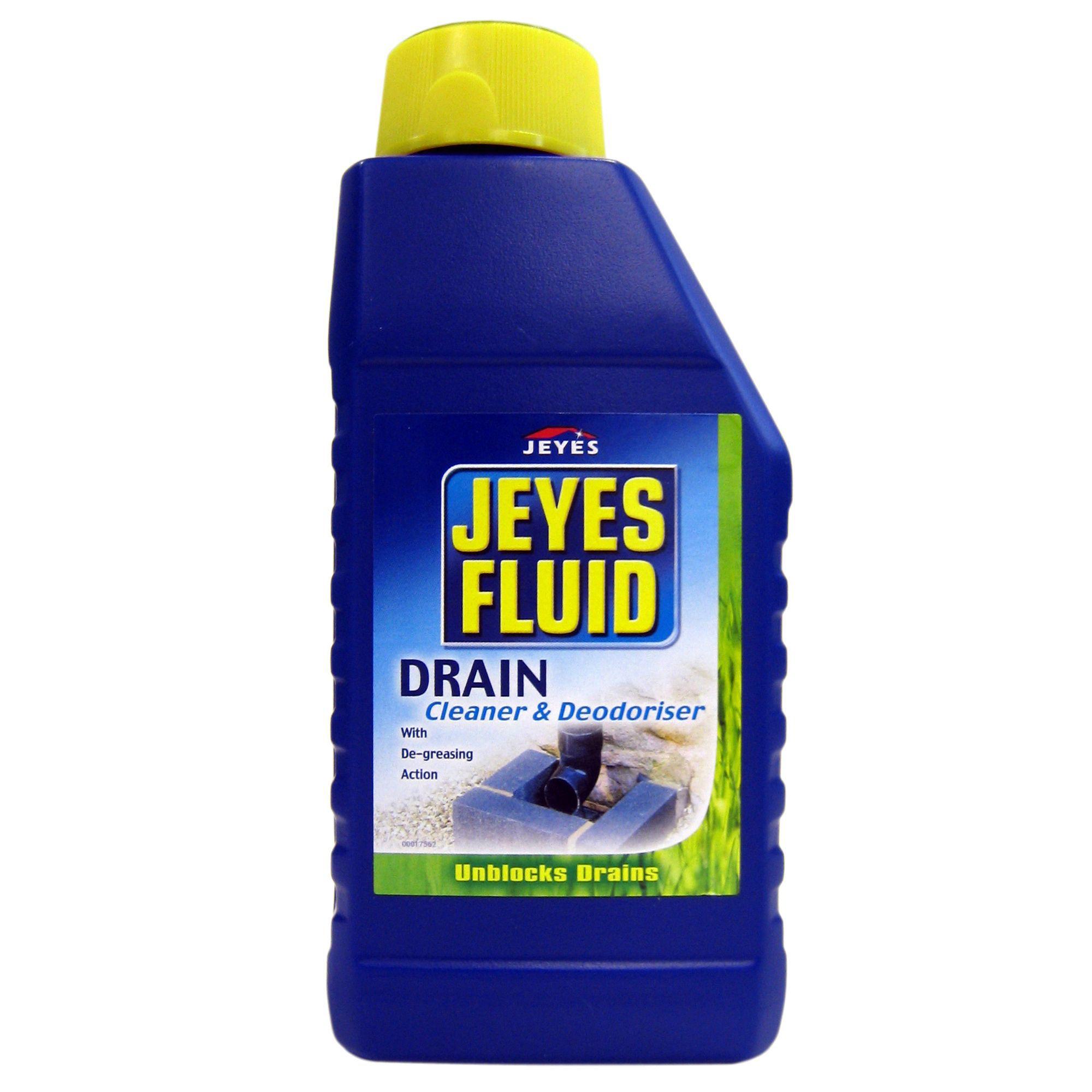 Jeyes Fluid Drain Cleaner Amp Unblocker Bottle 1000 Ml