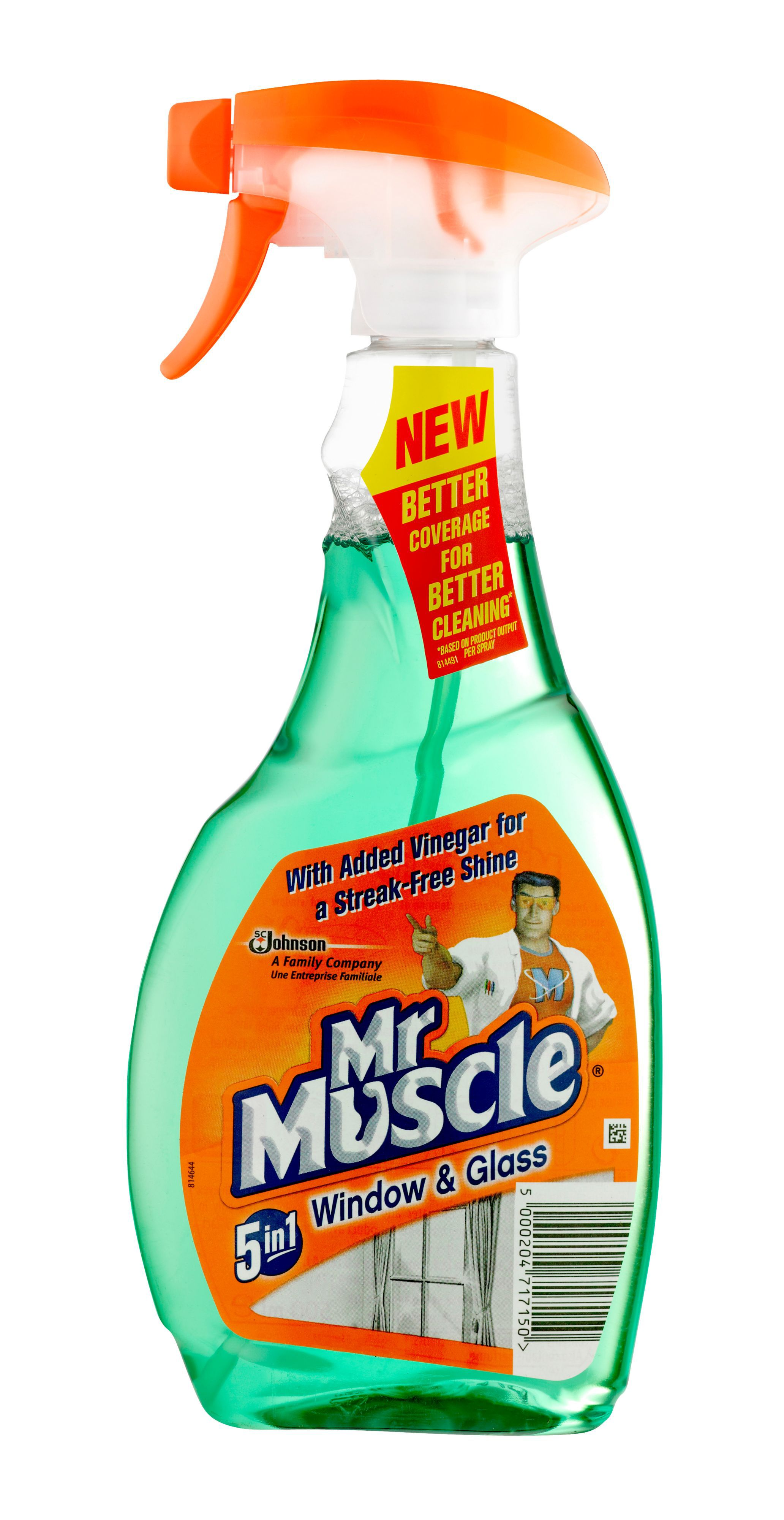 Mr Muscle Window Cleaner Bottle 500 Ml Departments