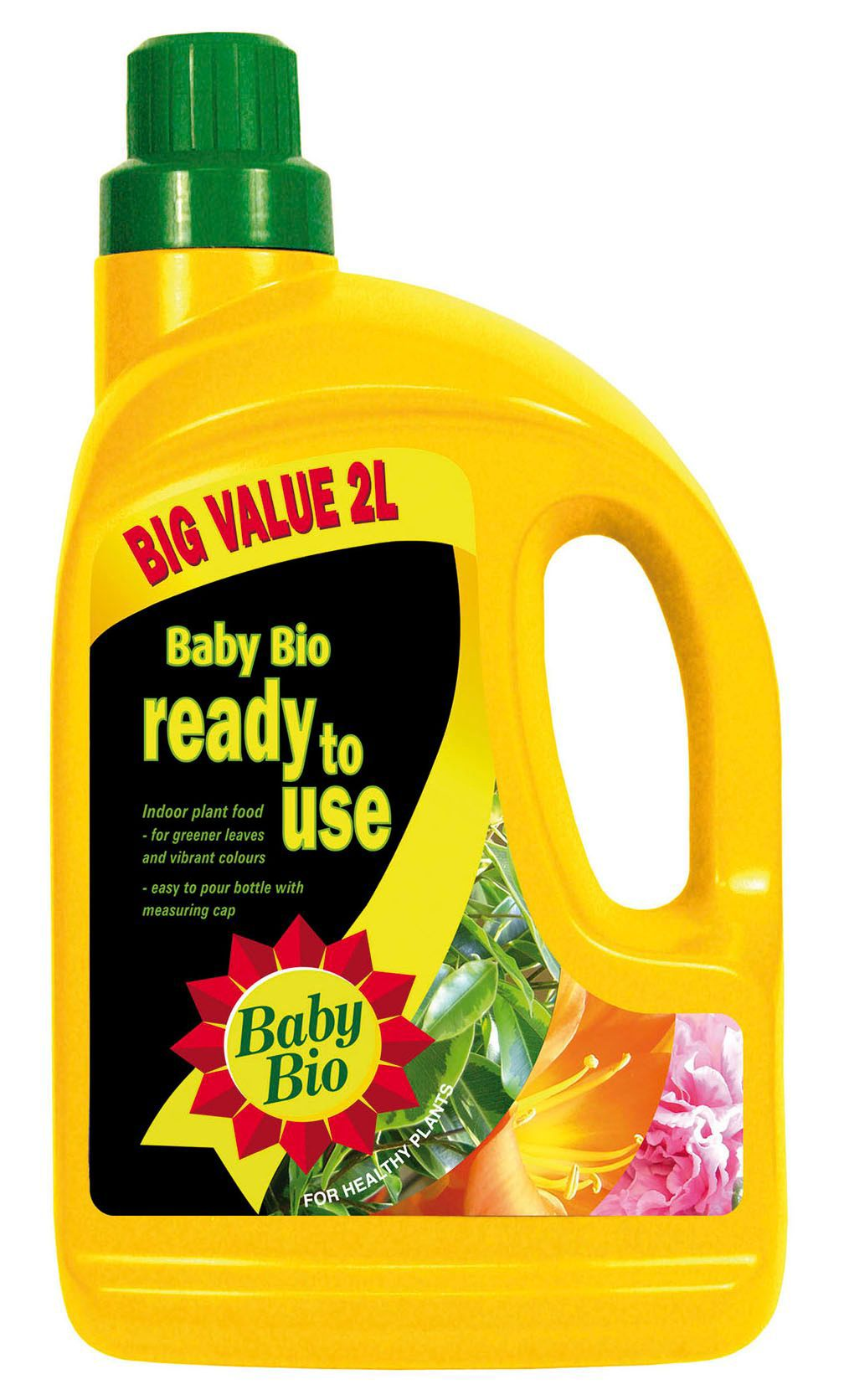 Baby Bio Liquid House Plant Feed 2l Departments Diy At Bq