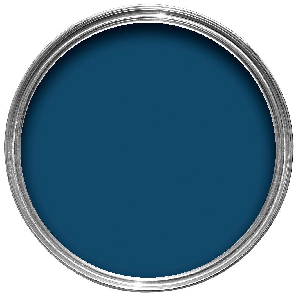 Crown Interior Amp Exterior Oxford Blue Gloss Wood Amp Metal