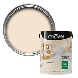 Crown Breatheasy Magnolia Silk Emulsion paint 5 L