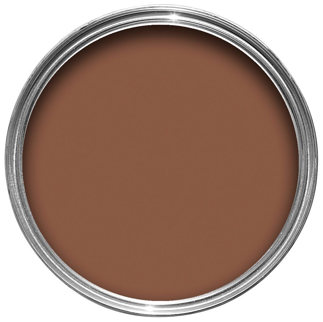 Crown Solo Interior Exterior Chocolate Brown Gloss Wood Metal Paint Departments