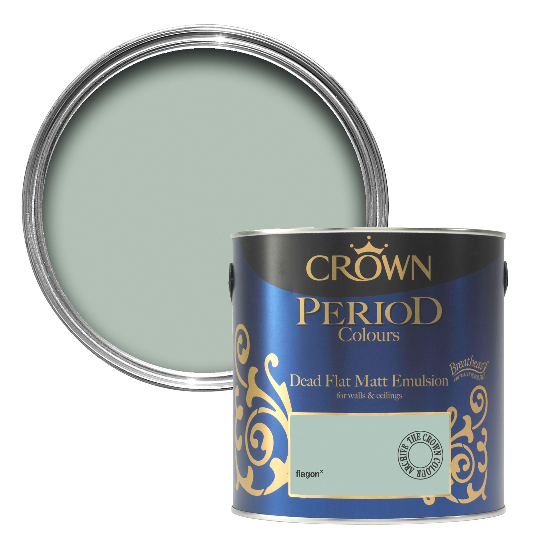 Vacs And Videos >> Crown Breatheasy Flagon Matt Emulsion paint 2.5 L | Departments | DIY at B&Q