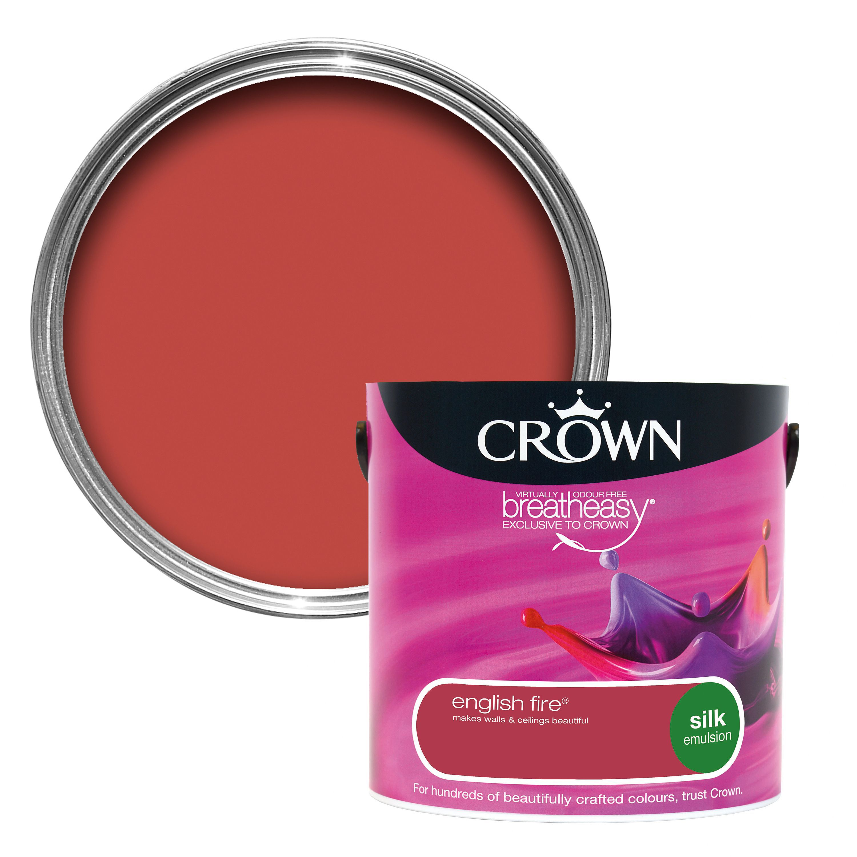 Crown Red Paint