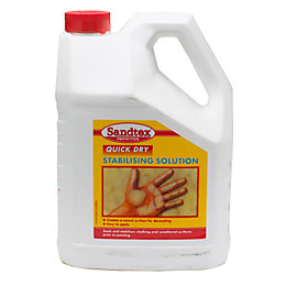 Sandtex Quick Dry Clear Stabilising solution 4000ml