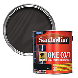 Sadolin Ebony Semi-gloss Woodstain 2.5L