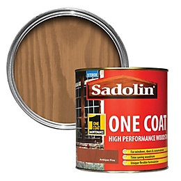 Sadolin Antique pine Semi-gloss Wood stain 1L