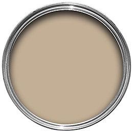 Sandtex Mid stone brown Smooth Masonry paint 5L
