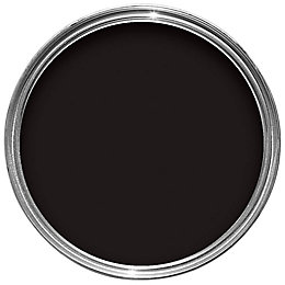 Sandtex Black Smooth Matt Masonry Paint 2.5L
