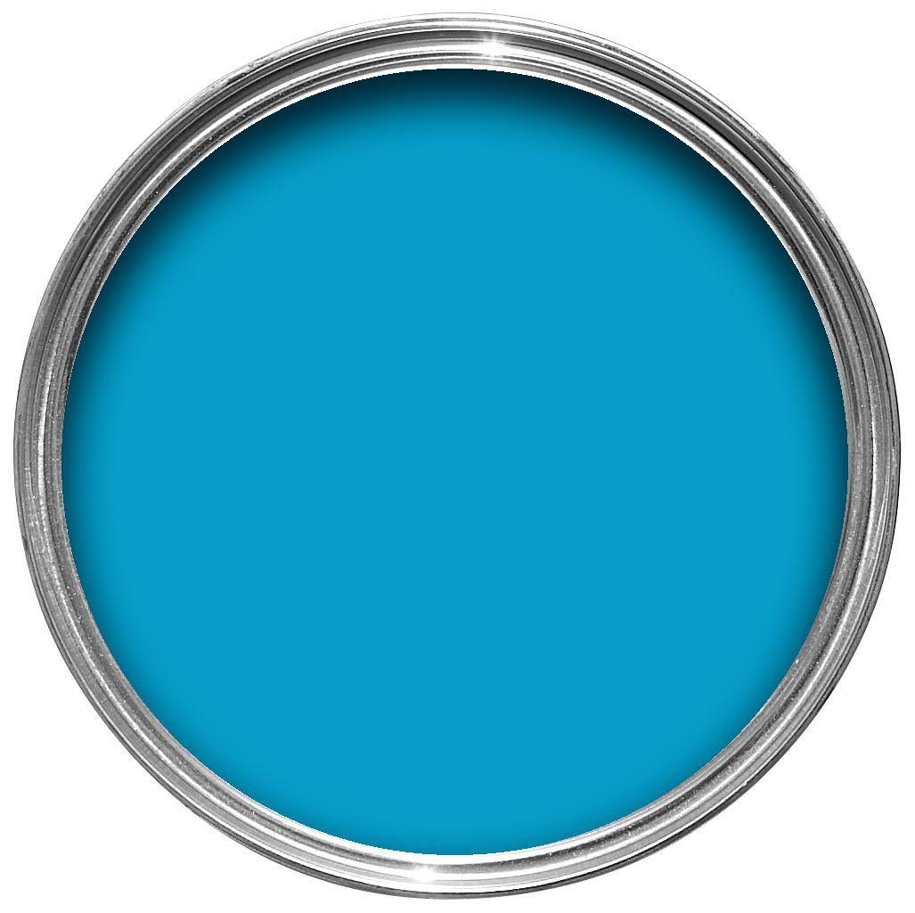 Sandtex exterior bahama blue gloss wood metal paint departments diy at b q for Sandtex 10 year exterior gloss
