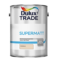 Dulux Trade Trade Magnolia Supermatt Emulsion Paint 5L