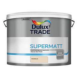 Dulux Trade Trade Magnolia Supermatt Emulsion Paint 10L