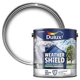 Dulux Weathershield White Wood Undercoat 2.5L
