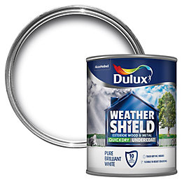 Dulux Weathershield White Metal & wood Undercoat 0.75L