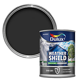 Dulux Weathershield Grey Metal & wood Undercoat 0.75L