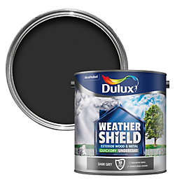 Dulux Weathershield Grey Metal & wood Undercoat 2.5L