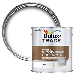 Dulux Trade White Wood Primer & undercoat 1L