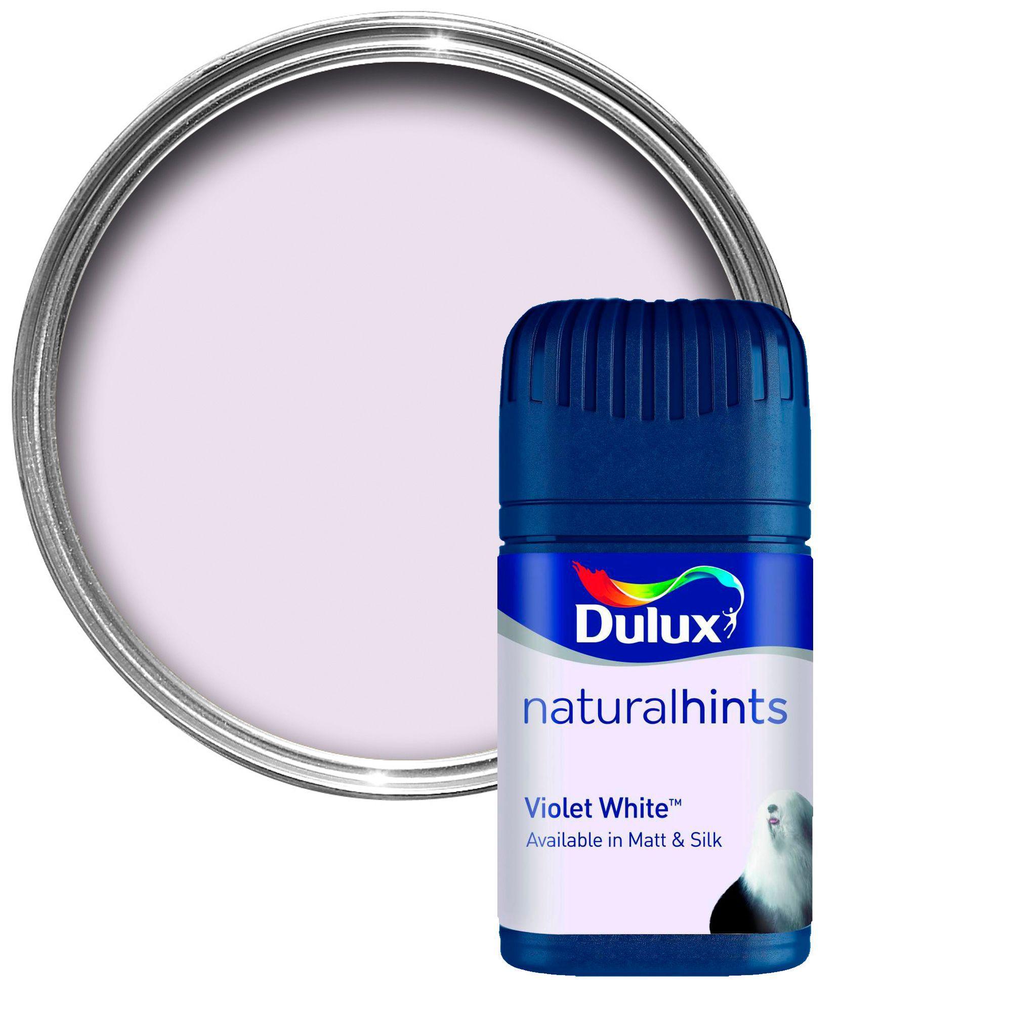 Dulux Colour Violet White Matt Emulsion Paint 0 05l Tester Pot Departments Diy At B Q