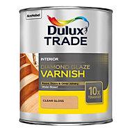 Dulux Trade Diamond Clear Gloss Varnish 1L