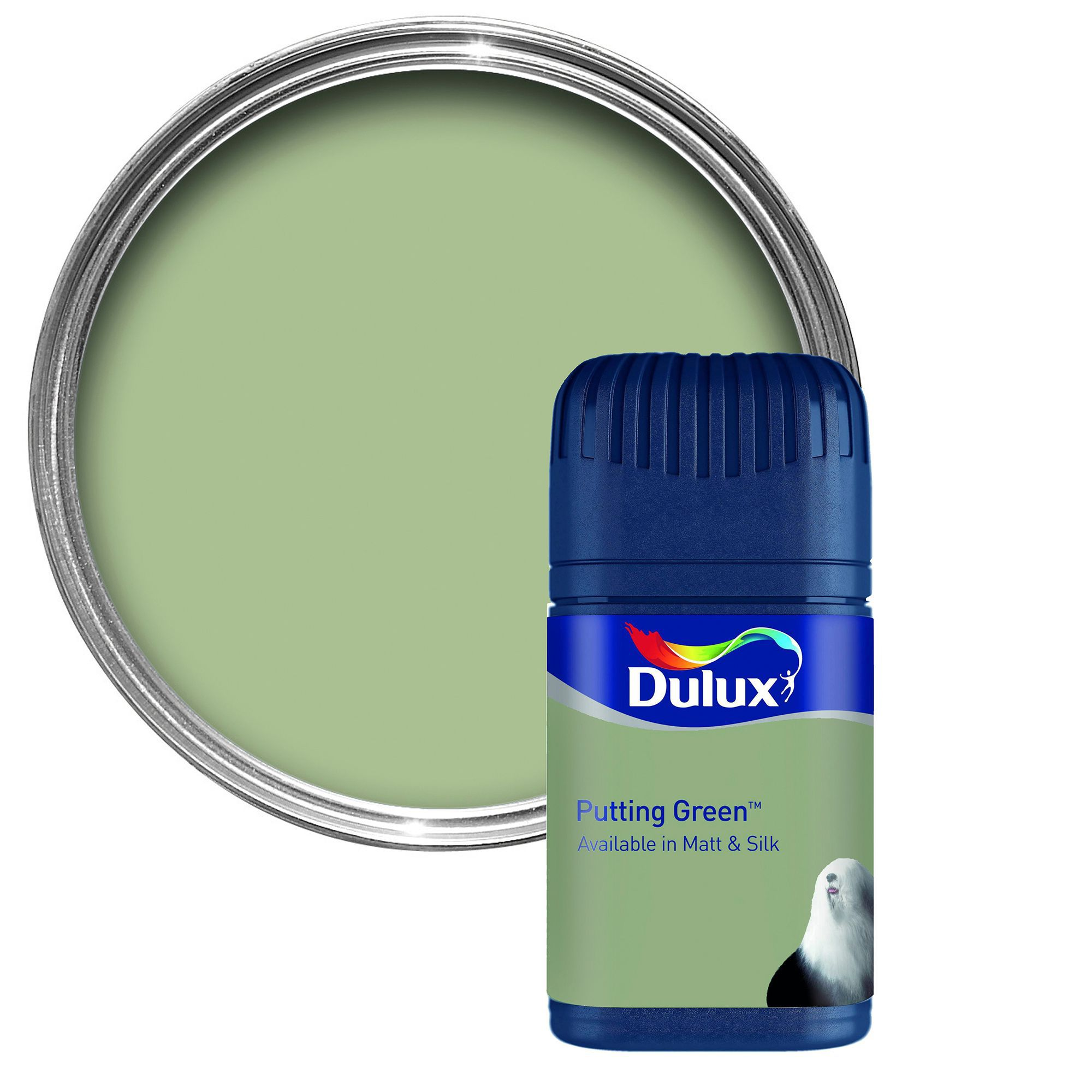 Dulux Tester Putting Green Matt Emulsion Paint Tester Pot