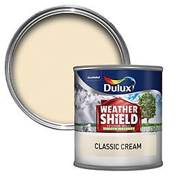 Dulux Weathershield Classic Cream Smooth Matt Masonry Paint