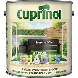 Cuprinol Garden Shades Seasoned oak Matt Wood paint