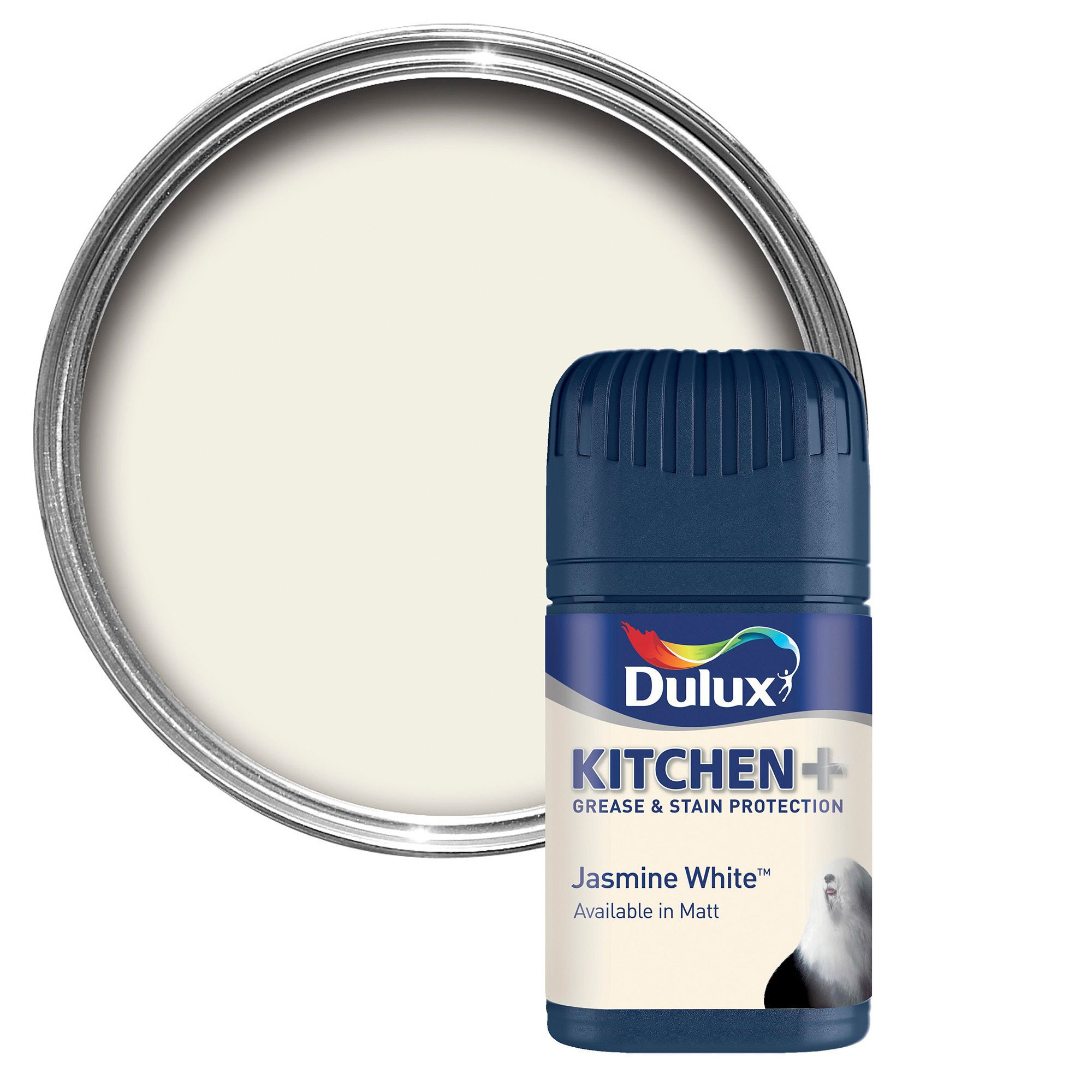 dulux kitchen jasmine white matt emulsion paint. Black Bedroom Furniture Sets. Home Design Ideas