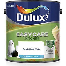 Dulux Easycare Pure brilliant white Matt Emulsion paint