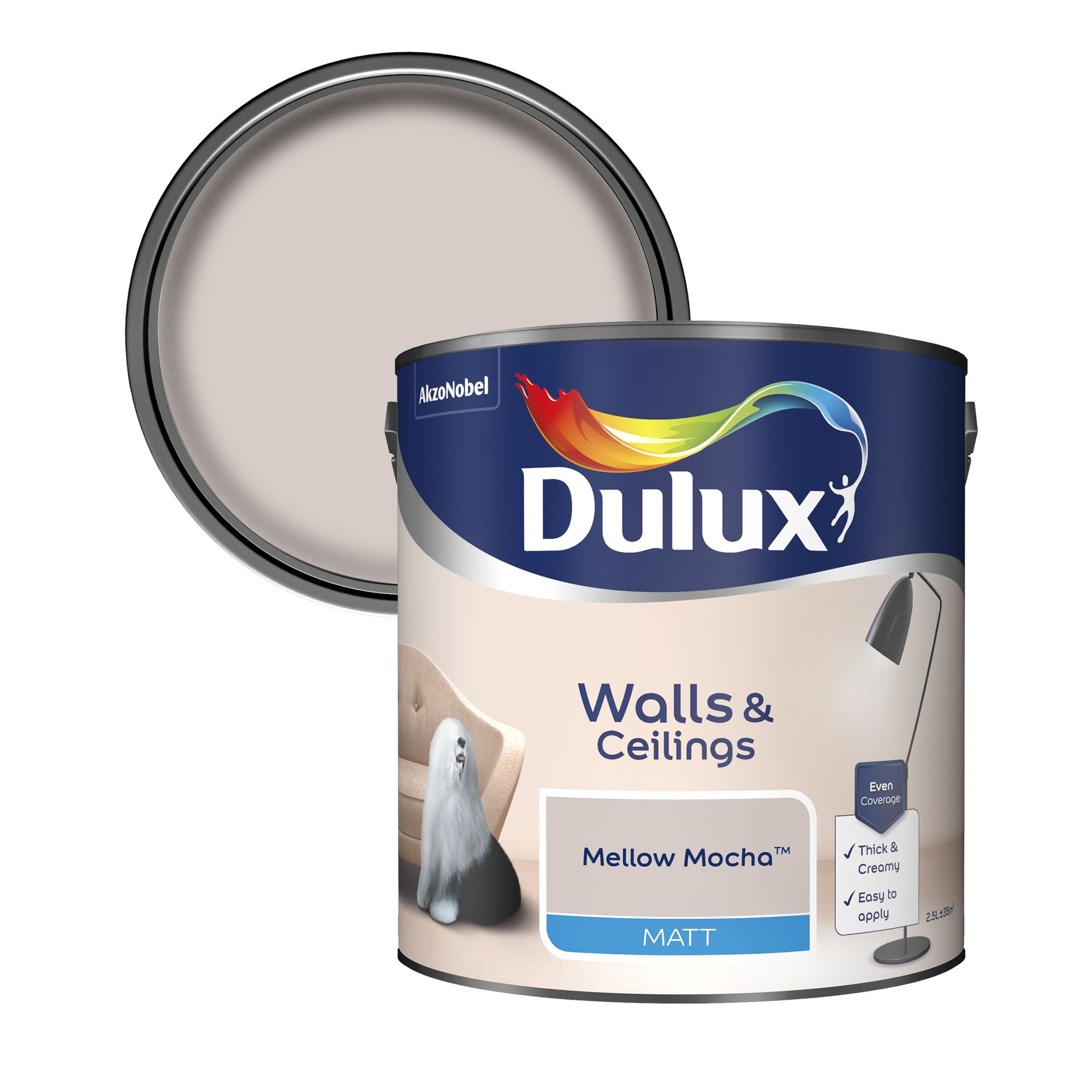 Dulux Neutrals Mellow Mocha Matt Emulsion Paint 2 5l Departments Diy At B Q,Different Types Of Purple Crystals
