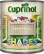 Cuprinol Garden Shades Natural stone Matt Wood paint 1L