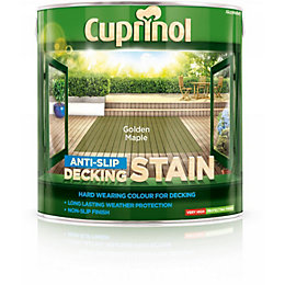 Cuprinol Golden maple Matt Anti Slip Decking stain