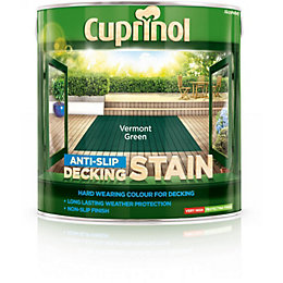 Cuprinol Vermont Green Matt Anti Slip Decking Stain