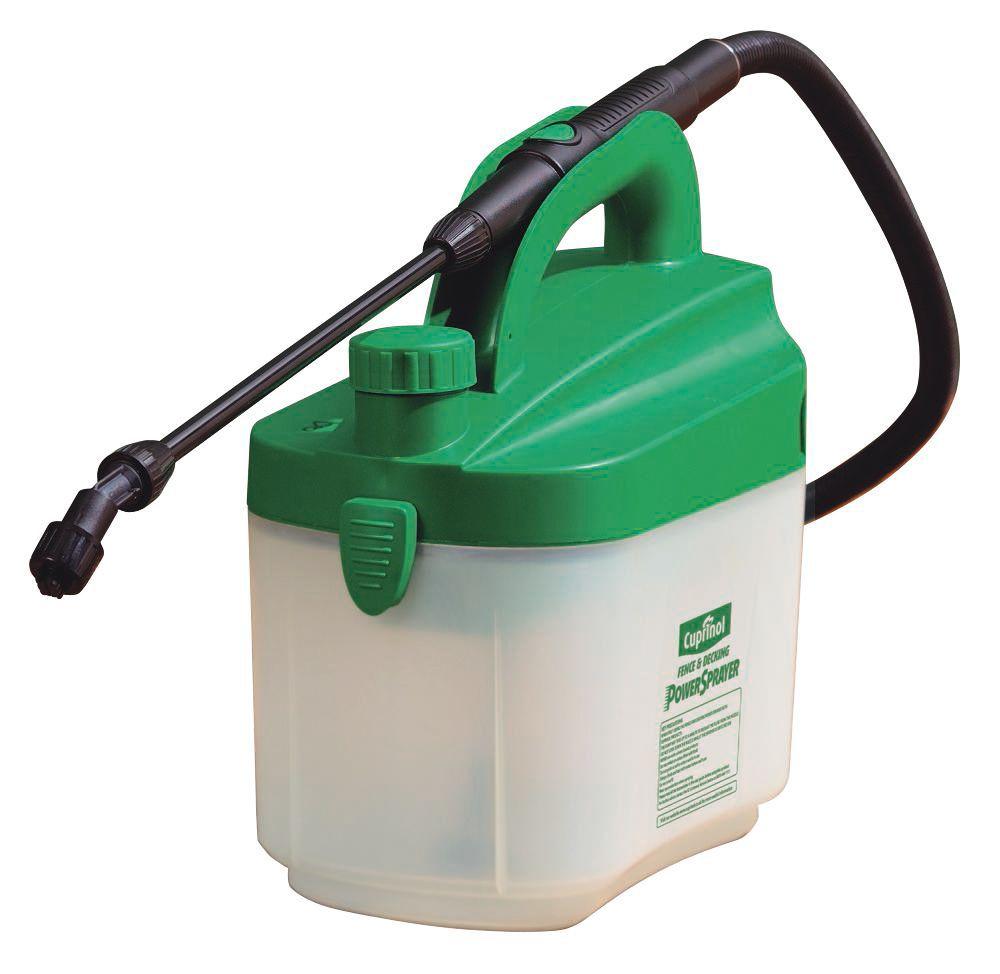 5010212524473 821915 Cuprinol Battery Powered Sprayer Departments Diy At B Q