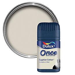 dulux polished pebble matt emulsion paint tester pot. Black Bedroom Furniture Sets. Home Design Ideas