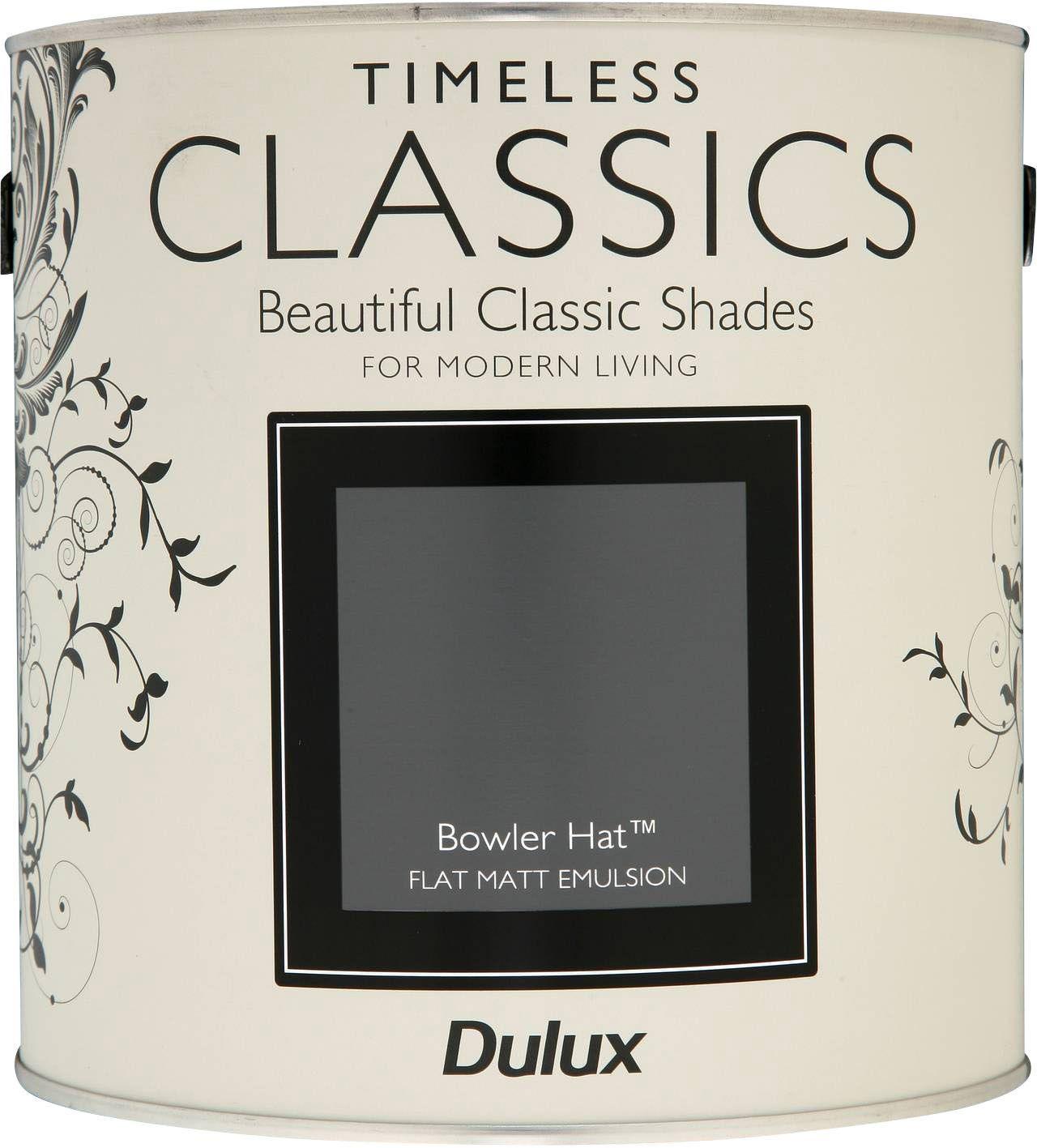 761e400819fc2 Dulux Timeless Classics Bowler Hat Matt Emulsion Paint 2.5L ...