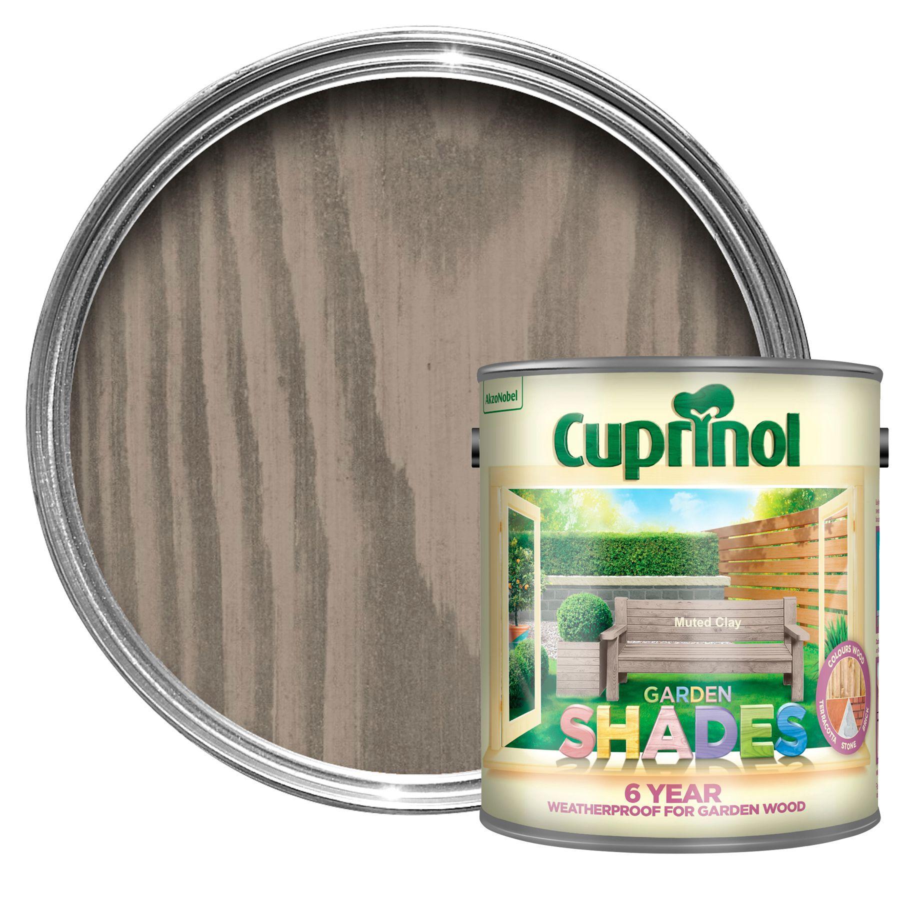 Cuprinol Garden Shades Muted Clay Matt Wood Paint 2 5l