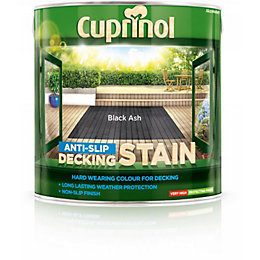 Cuprinol Black Ash Matt Anti Slip Decking Stain